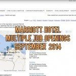 marriott hotel job september 2014