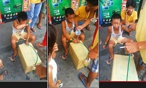 child pandesal vendor hold up