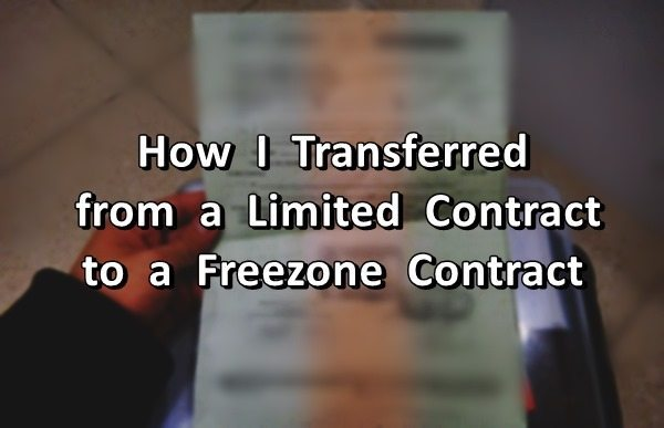 How I Transferred from a Limited Contract to a Freezone Contract