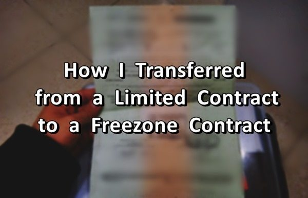 limited to freezone contract