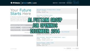al futtaim group jobs december 2014