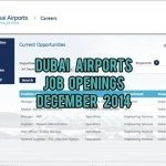 Dubai Airports Job Openings UAE December 2014