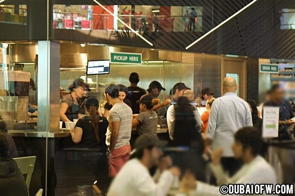 dubai mall shake shack