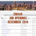 Emaar Job Opportunities December 2014