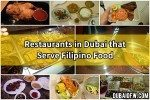List of Filipino Restaurants in Dubai