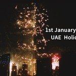 1 January  2015 is a Public Holiday in the UAE