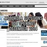 Motorola Solutions UAE Job Vacancies December 2014