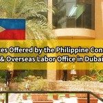 Services Offered by the Philippine Consulate and Overseas Labor Office in Dubai