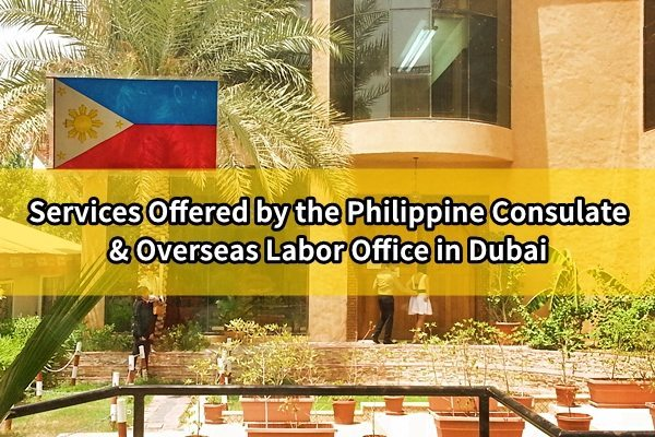 Services Offered by the Philippine Consulate and Overseas Labor