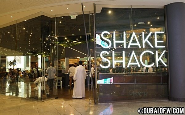 shake shack dubai mall