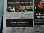 Walk-in Interview by Gulf Finance-13 DEC 2014