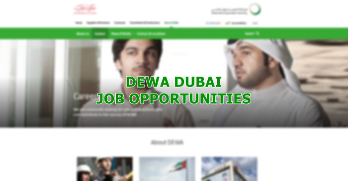 DEWA Job Vacancies September 2019 | Dubai OFW