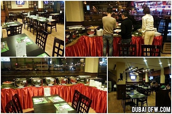 fiesta pinoy filipino restaurant dubai