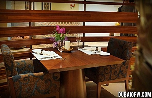 dining at shayan restaurant