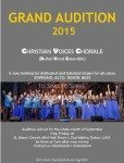 Christian Voices Chorale-Grand Audition