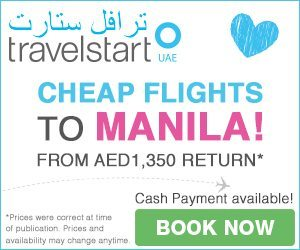 Cheap Flights Dubai to Manila