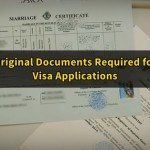 Original Documents Required When Applying for Visa