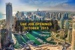 Job Openings in Dubai October 2015