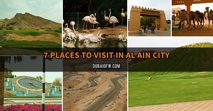places to visit in al ain city