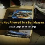 List of Prohibited Items in a Balikbayan Box