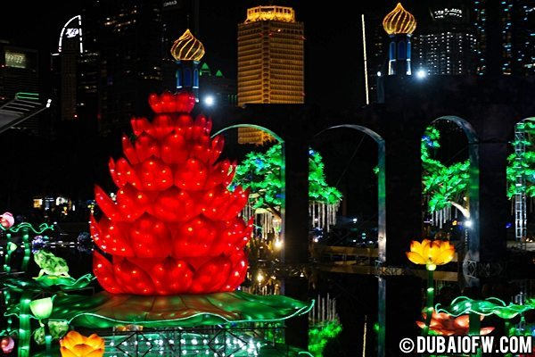 dubai lights garden