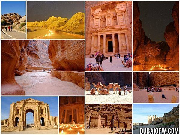dubai to jordan travel