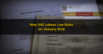 New UAE Labour Law Rules Take Effect on January 2016