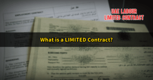 UAE Limited contract- labour law