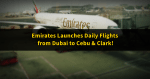 Emirates Launches Daily Flights: Dubai to Cebu & Clark