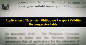 philippine passport validity extension