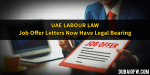 UAE Labour Law: Job Offer Now Legally Binding