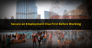 work visa uae