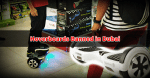 Hoverboards Banned in Public Places in Dubai