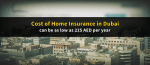 Did You Know, You can Insure Your Apartment for as low as 225 AED per Year?
