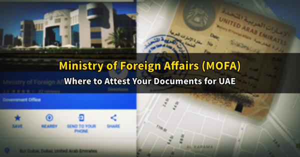 ministry of foreign affairs bur dubai