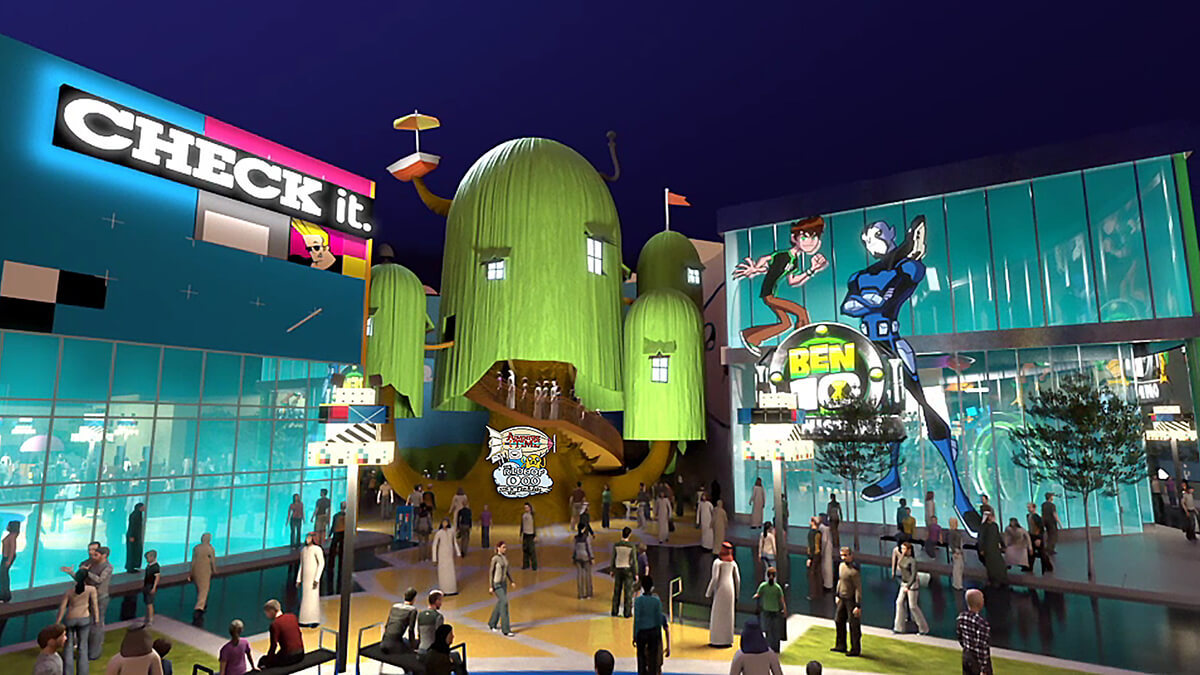 Cartoon Network IMG Worlds of Adventure dubai