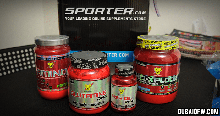 BSN Supplements Dubai Sporter