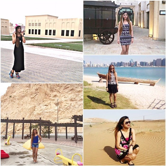 Filipina in Abu Emirates