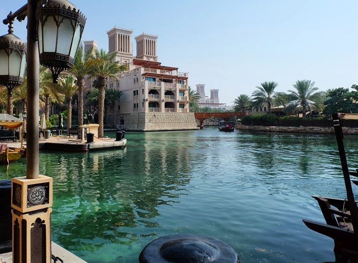 creek in Souq Madinat
