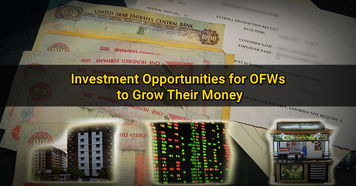 investment opportunities OFWs