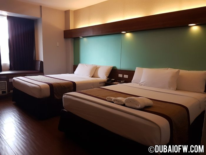 microtel baguio rooms