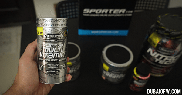 muscletech platinum multivitamins dubai