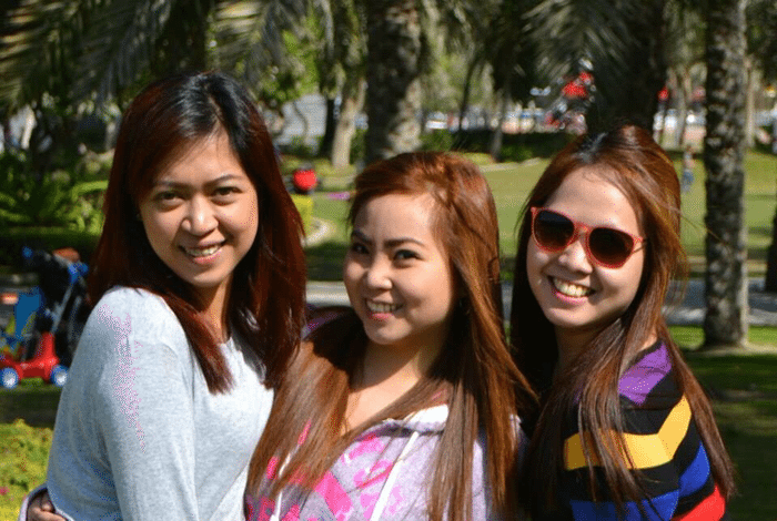pinays in dubai