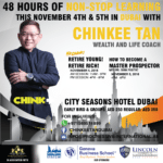 Chinkee Tan coming to Dubai this November