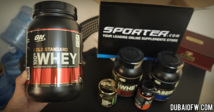 Optimum Nutrition Whey Protein Dubai