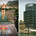 Red Bull Cliff Diving World Series Final at Dubai Marina October 28