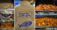 Seafood Buffet at The Seafoods Unlimited Atbp in Muraqqabat