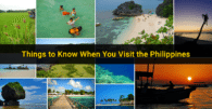Things to Know When You Visit the Philippines (Travel Guide)