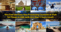 12 Visa Free and Easy Visa Processing Countries to Travel for Pinoys in UAE (Under 5 hours)