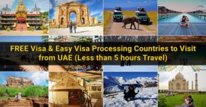 free easy visa countries from uae
